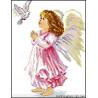 Aniołek z gołąbkiem