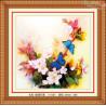 Motylki i kwiaty